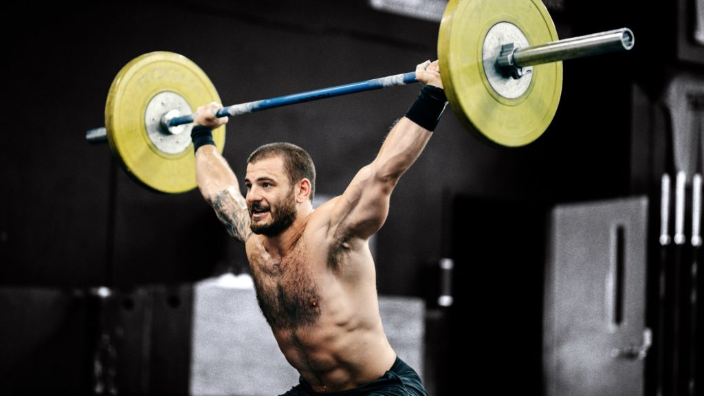 Matt Fraser Snatch Squat Athlète Crossfit