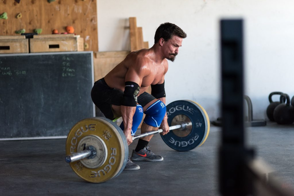 Josh Bridges atlhetes crossfit deadlift