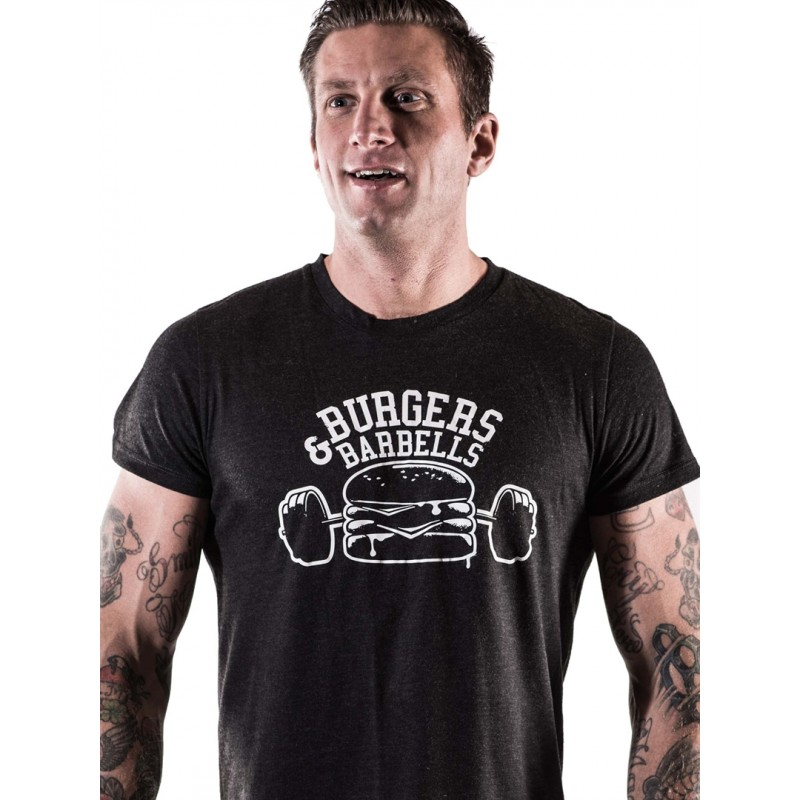 T Shirt Homme Crossfit Northern Spirit - Burger & Barbell